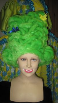 Dame - Green Headpiece